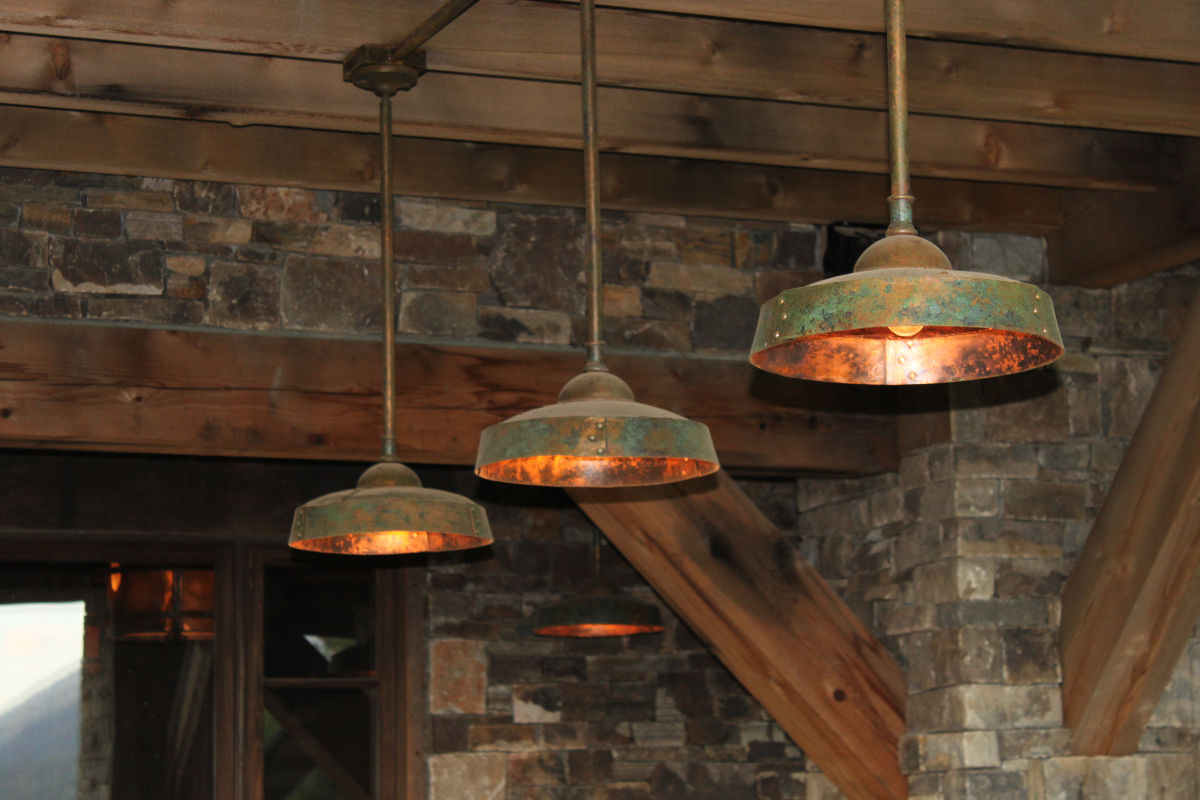 Ironglass Lighting Barn Light Pendant