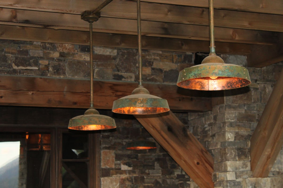 Ironglass Lighting Barn Light Pendant